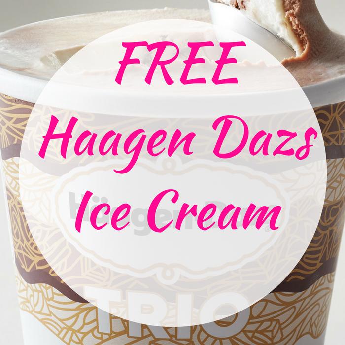 FREE Haagen Dazs Ice Cream!