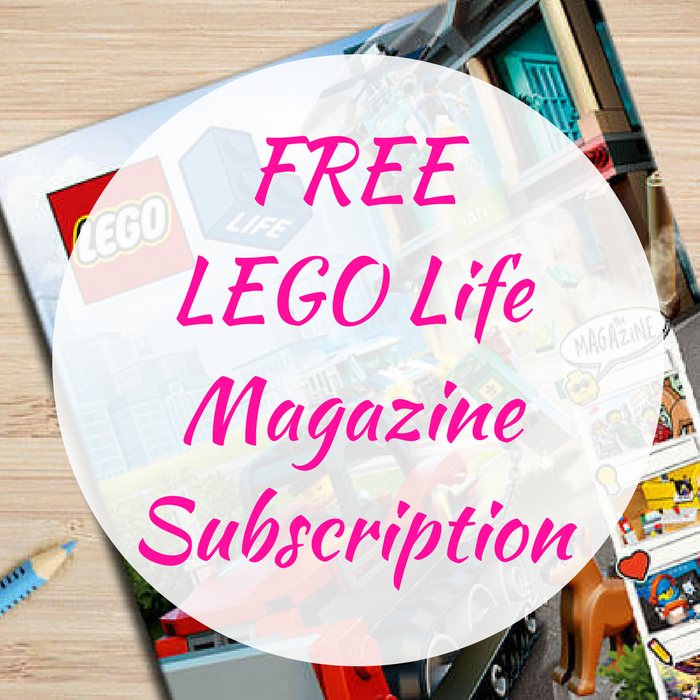 FREE LEGO Life Magazine Subscription!