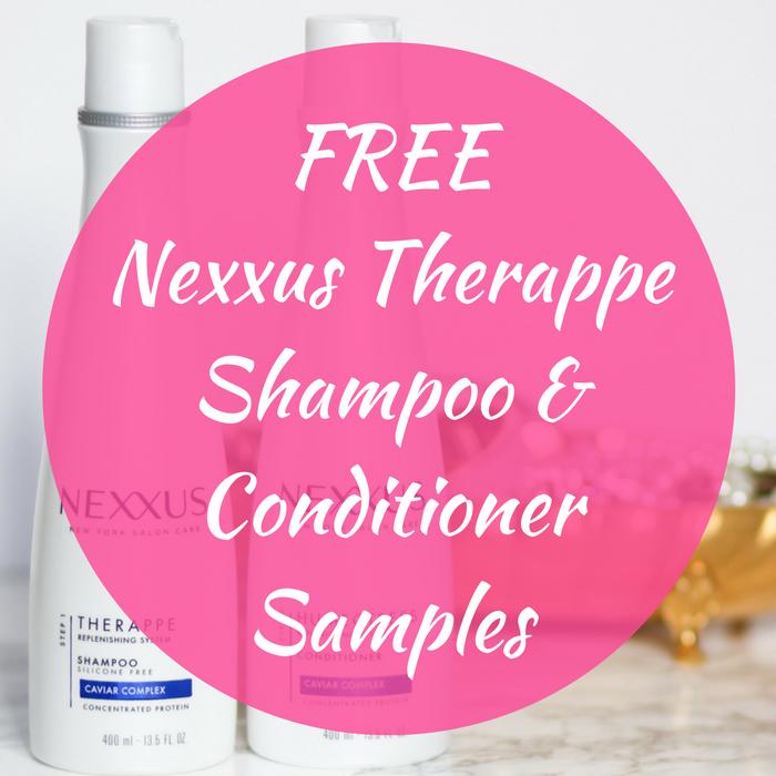 FREE Nexxus Therappe Shampoo & Conditioner Samples!