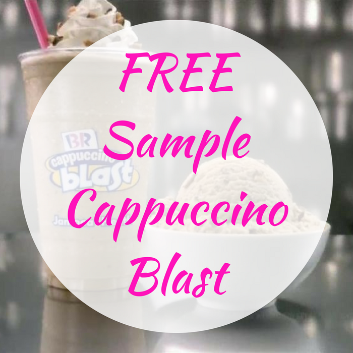FREE Sample Cappuccino Blast! TODAY ONLY!