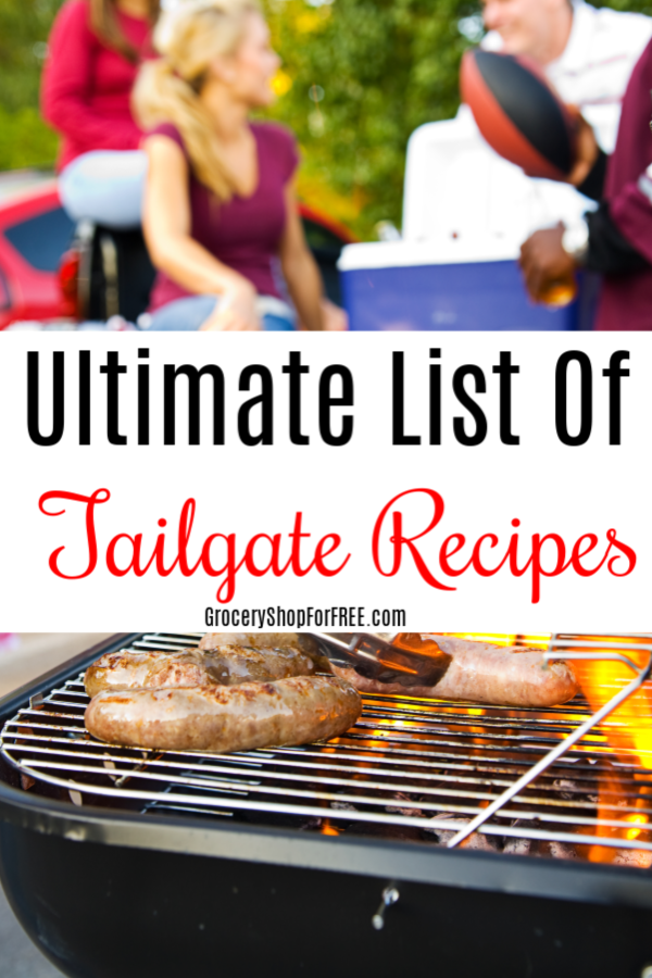 These easy tailgate food recipes will make your next tailgaters menu perfect! They're the best tailgate recipes, full of good tailgate food & tailgate party ideas.