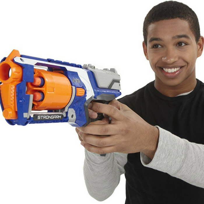 Nerf N-Strike Elite Strongarm Blaster Just $12.99!