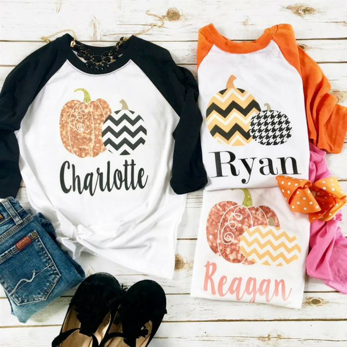 Personalized Halloween Shirts For Kids Just $13.99! Down From $28!