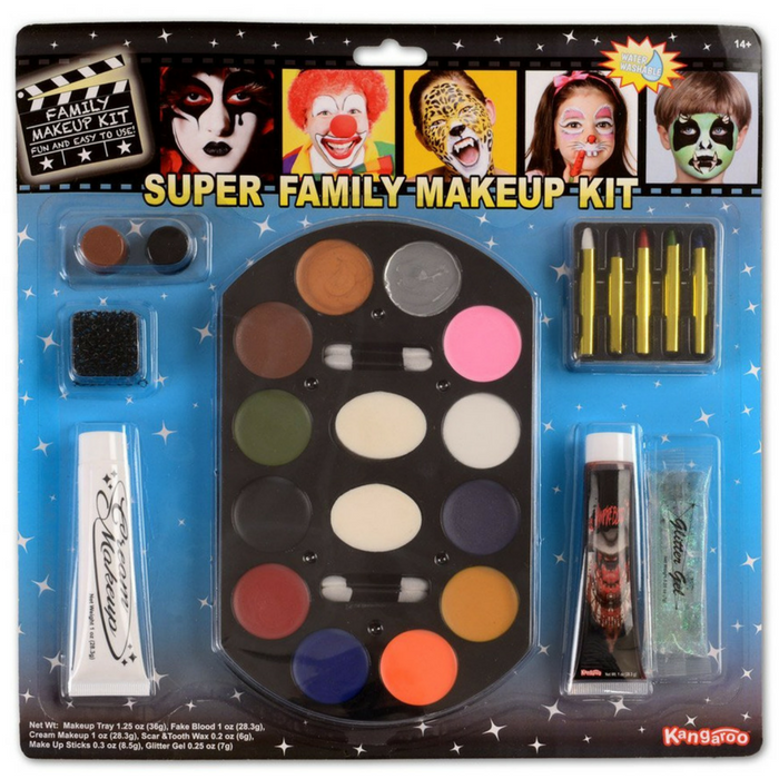 Super Jumbo Value Deluxe Family Halloween Makeup Kit Just $8.47!