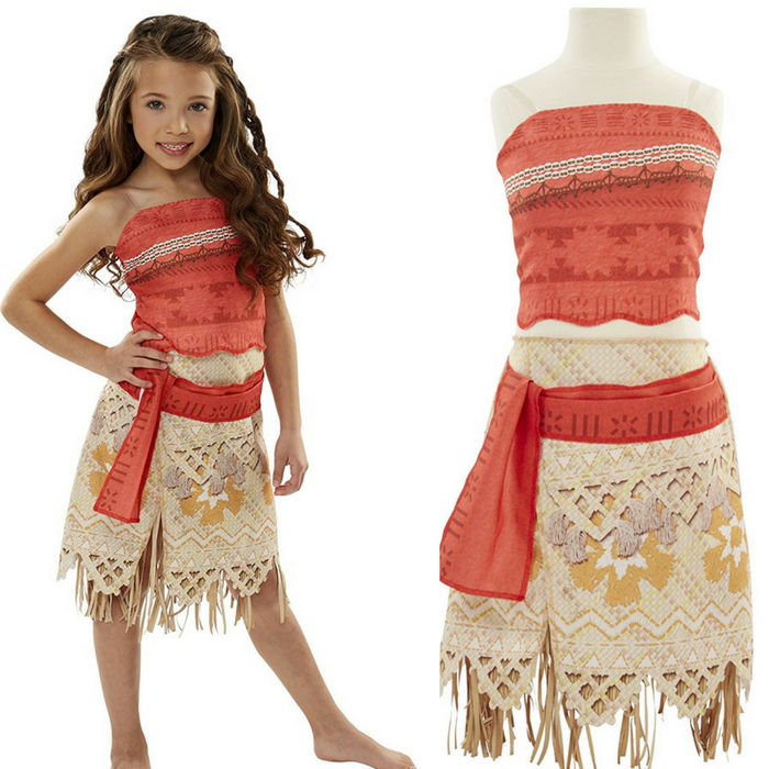 Disney Moana Girls Adventure Outfit Just $19.99! Down From $34!