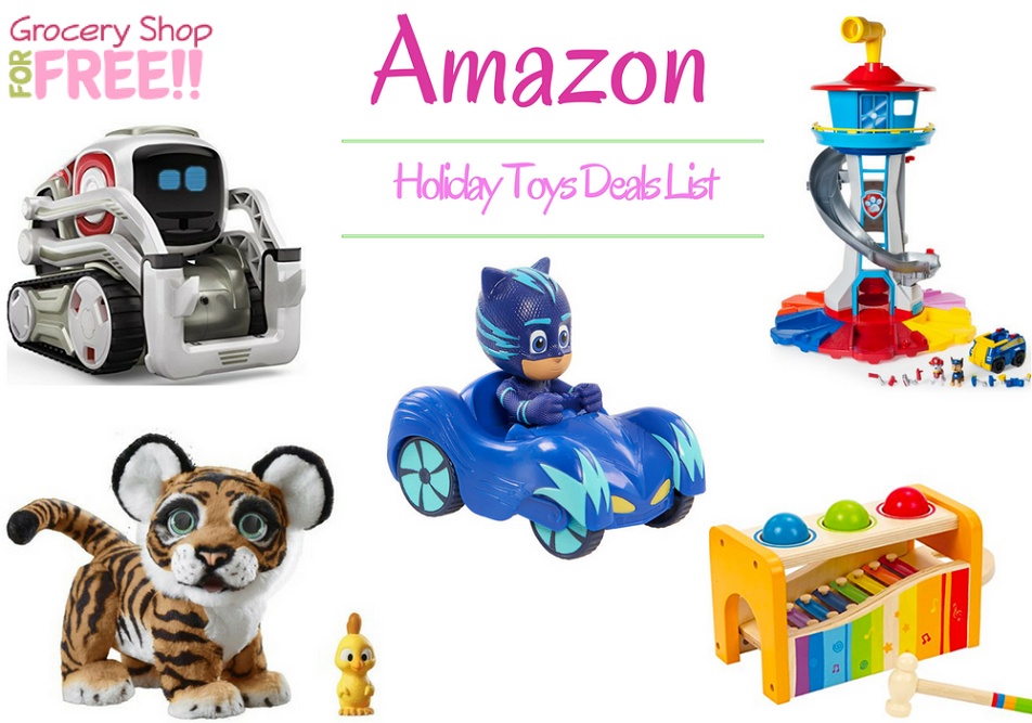 Amazon Holiday Toy Deals List Is Ready!