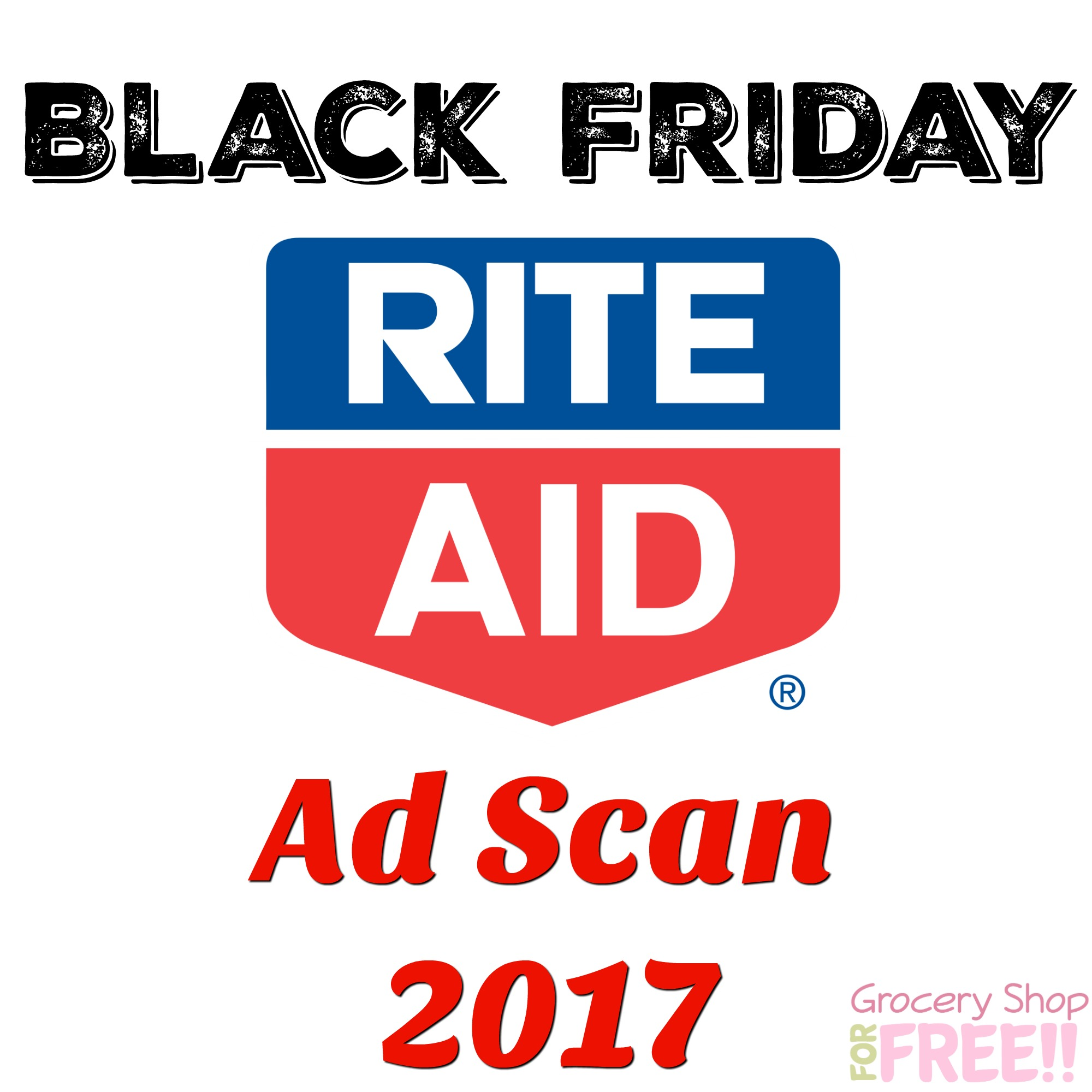 Rite Aid  2017 Black Friday Deals Ad Scan!