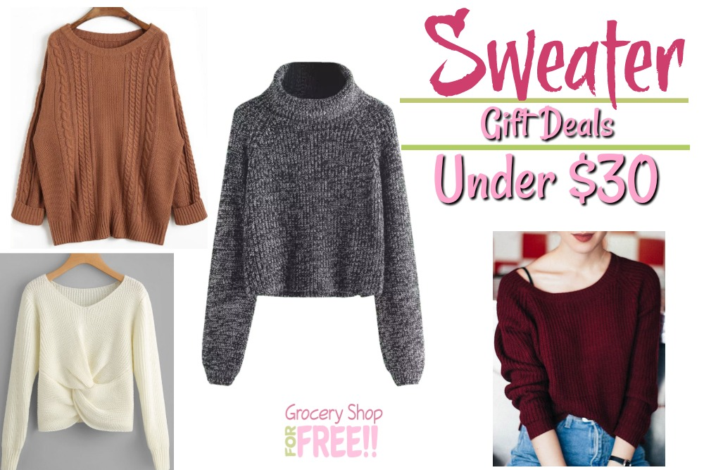 Women's Sweater Gift Ideas Under $30!