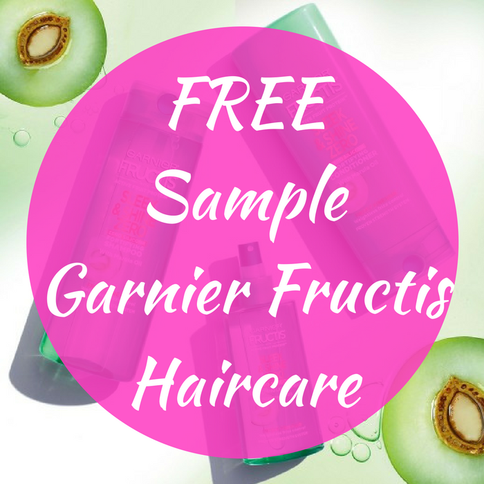 FREE Sample Garnier Fructis Haircare!