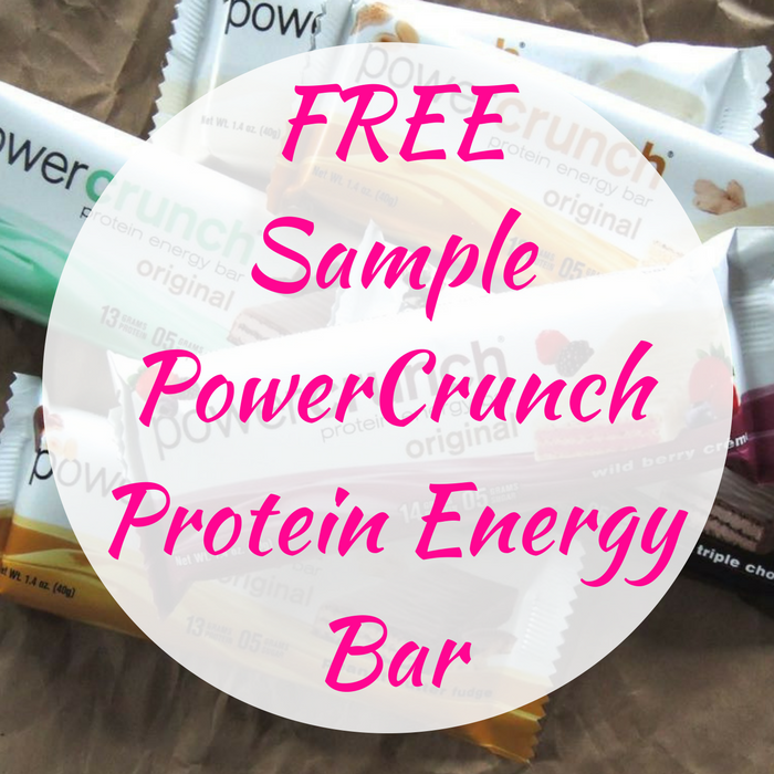 FREE Sample PowerCrunch Protein Energy Bar!