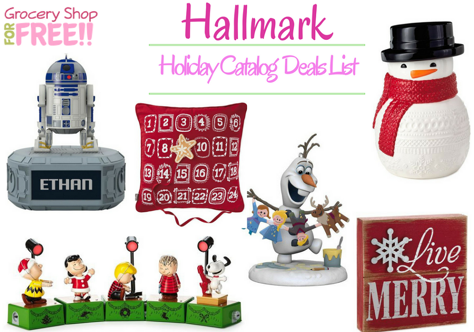 Hallmark Holiday Catalog Deals List Is Ready!