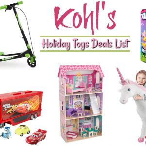 Kohl's Holiday Toy Deals List Is Ready!