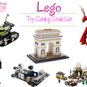 LEGO Toy Catalog Deals List Is Ready!