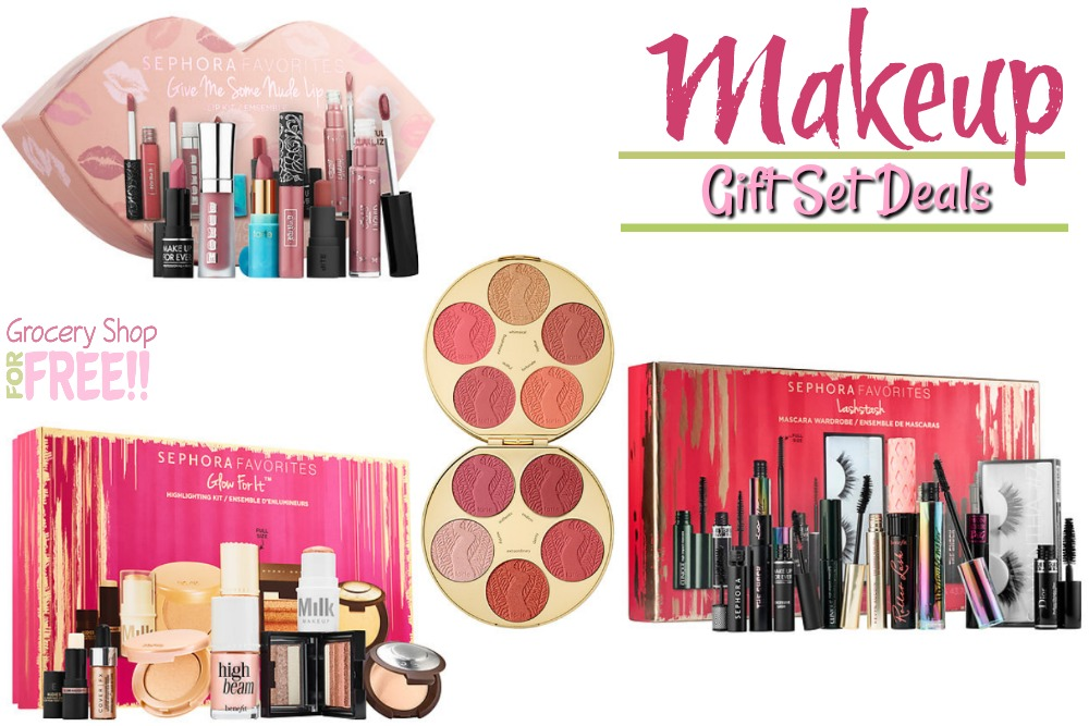Holiday Makeup Gift Sets Deals!