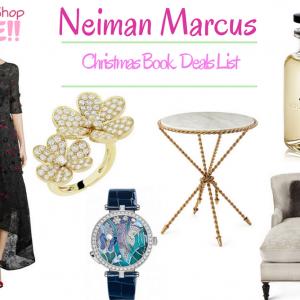 Neiman Marcus Christmas Book Deals List Is Ready!