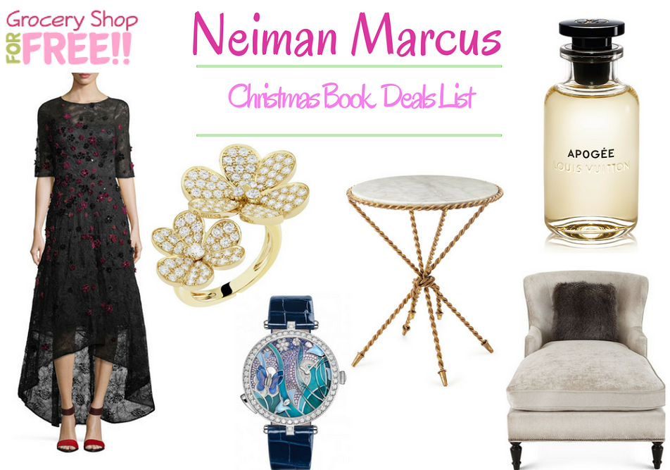 Neiman Marcus Christmas Book Deals List Is Ready!