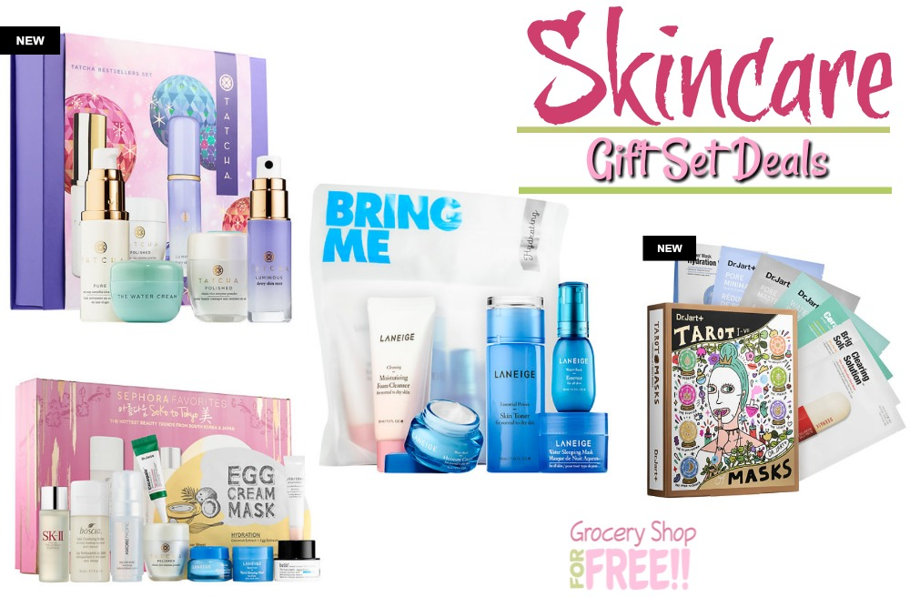 Skincare Holiday Gift Set Deals!