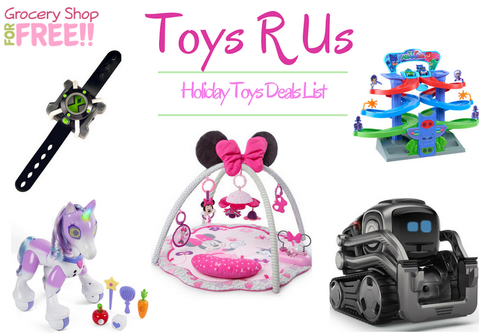 Toys R Us Holiday Toy Deals List Is Ready!