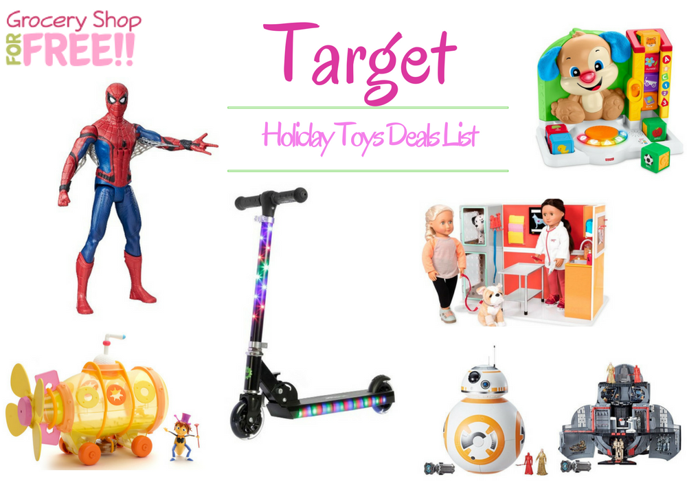 Target Holiday Toy Deals List Is Ready!