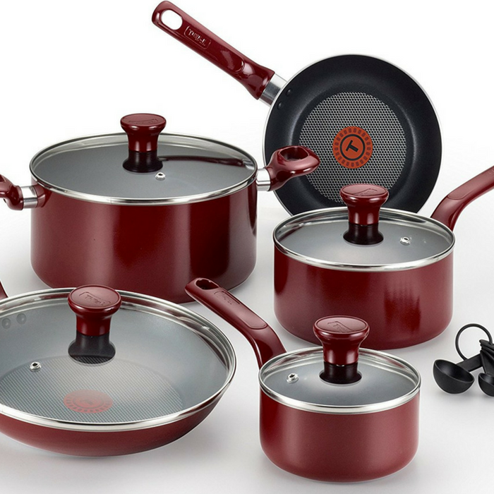T-Fal 14-Piece Nonstick Cookware Just $45.99! Down From $80! PLUS FREE Shipping!