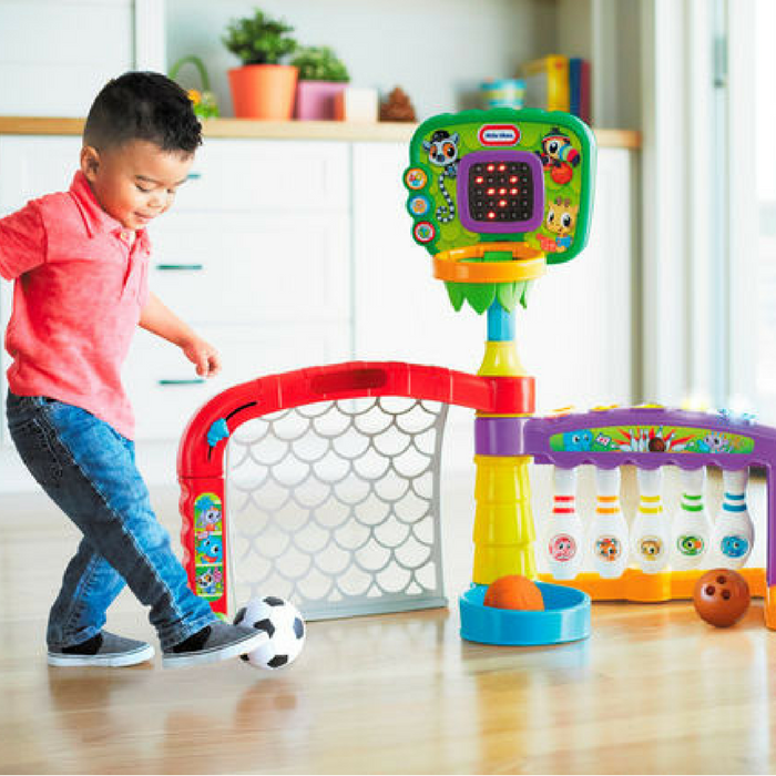 Little Tikes 3-In-1 Sports Zone Just $39.99! Down From $55! PLUS FREE Shipping!