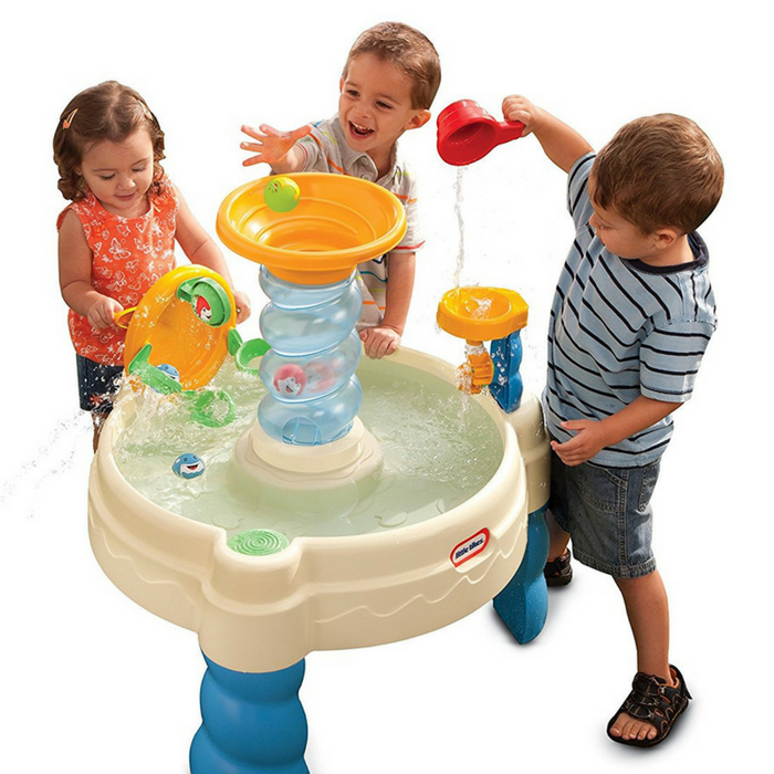 Little Tikes Spiralin' Seas Waterpark Play Table Just $20! Down From $55!