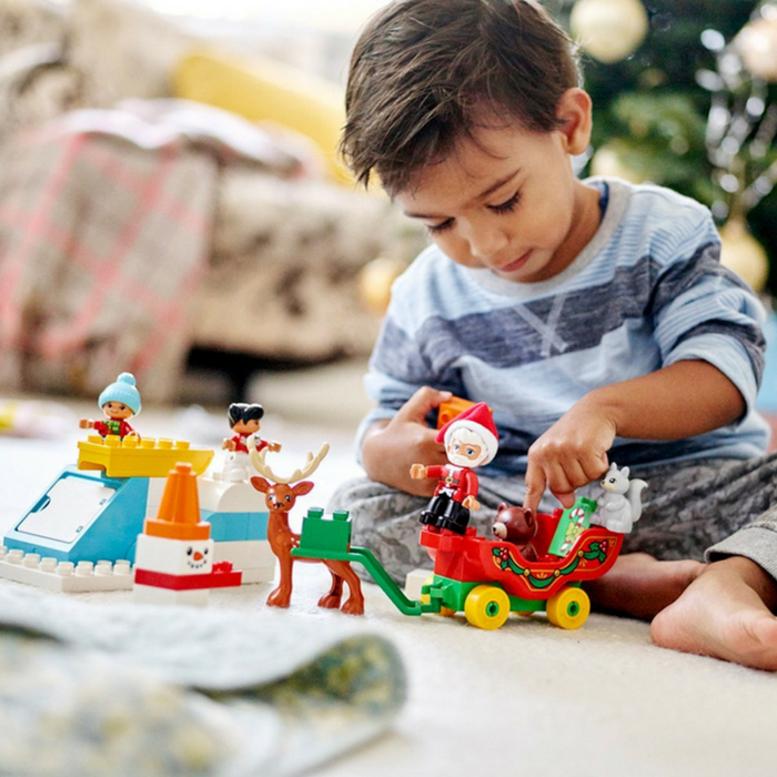 LEGO DUPLO Santa's Winter Holiday 45-Piece Set Just $23.99! Down From $30!