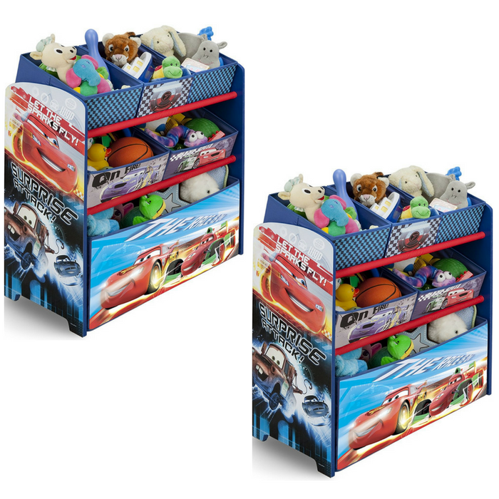 Cars Children Multi-Bin Toy Organizer Just $26.24! PLUS FREE Shipping!