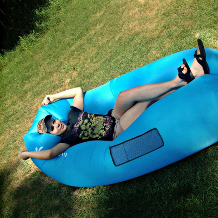 Vansky Portable Inflatable Lounger Just $24.74! Down From $130!