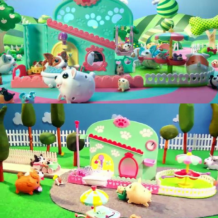 Chubby Puppies & Friends Pet Fun Center Just $9.87! Down From $30!