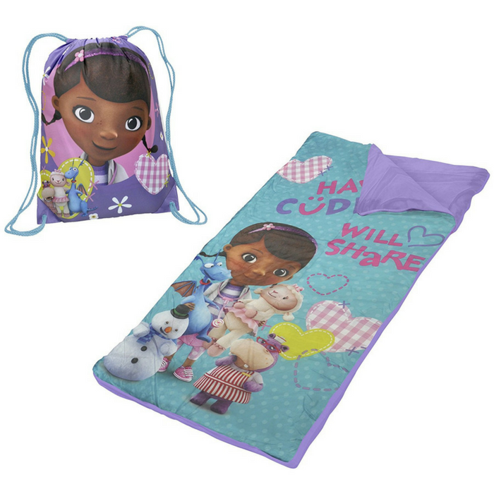 Doc McStuffins Slumber Bag Just $7.88! Down From $20!