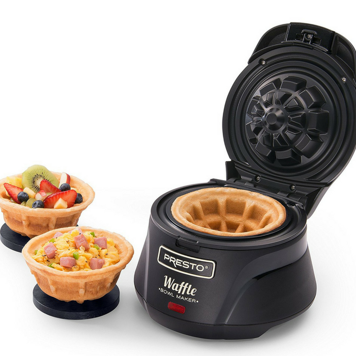 Belgian Bowl Waffle Maker Just $22.18! Down From $46!