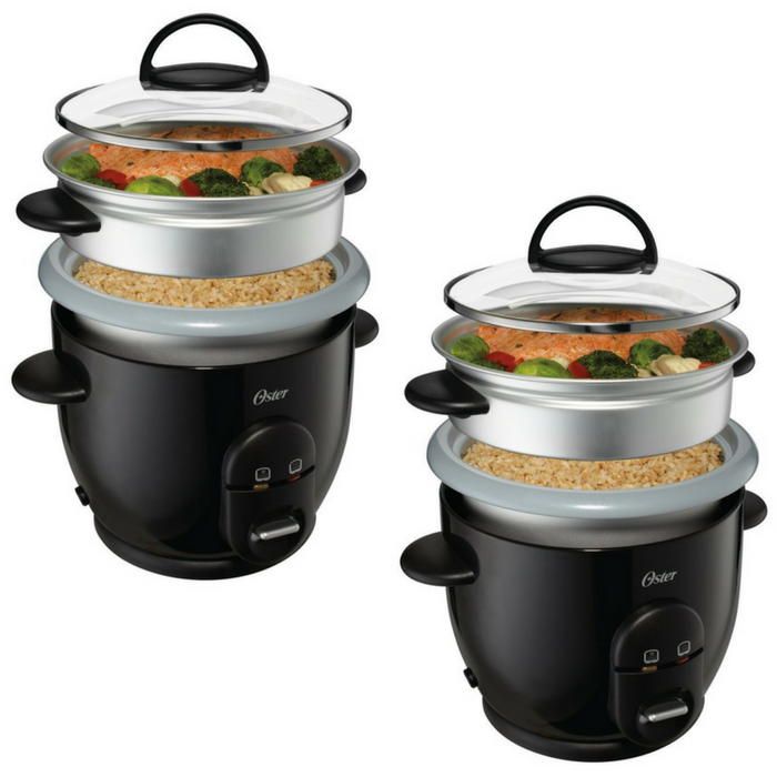 Oster Titanium Rice Cooker Just $16! Down From $36!