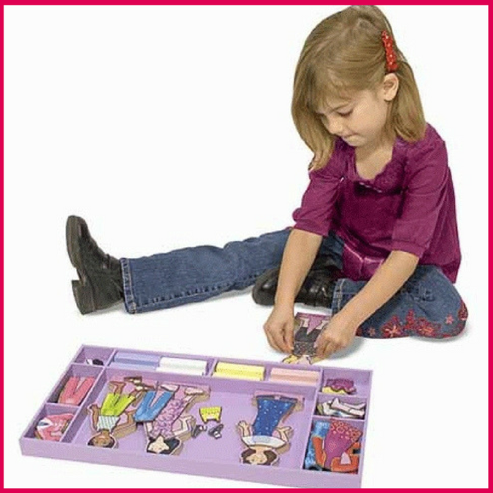 Melissa & Doug Magnetic Dress Up Playset Just $18.79! Down From $30!