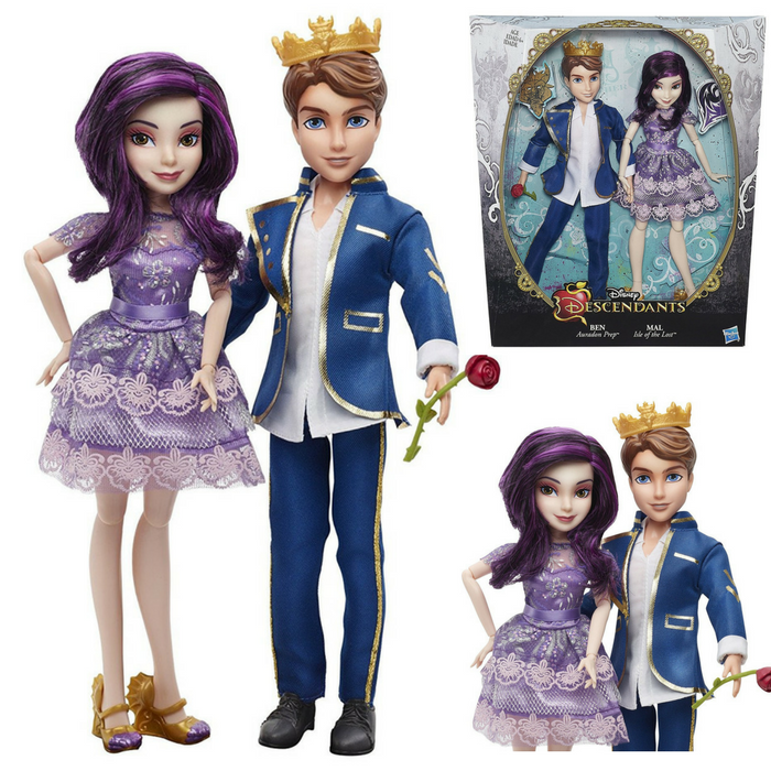 2-Pack Disney Descendants Dolls Just $17.73! Down From $30!