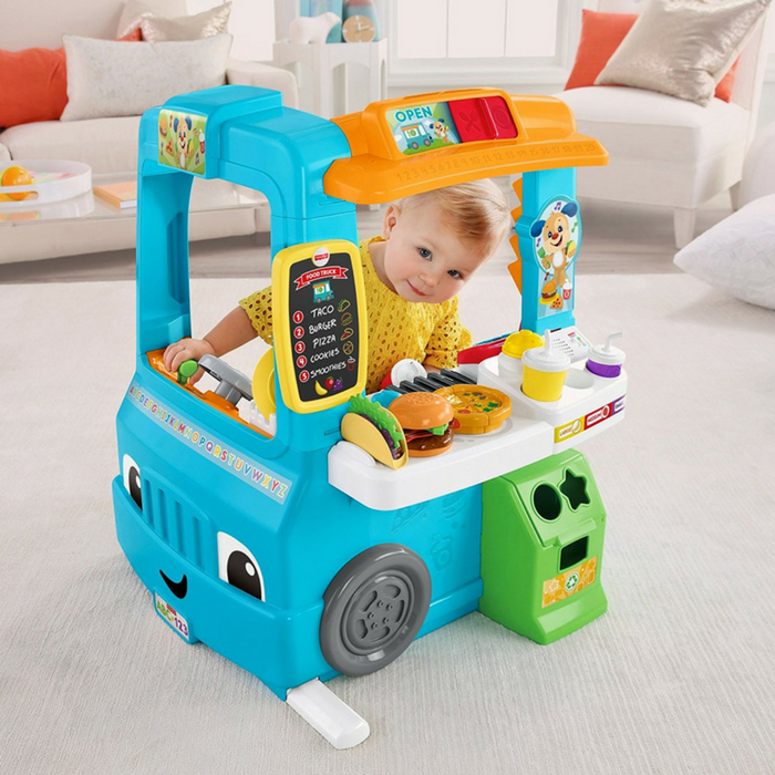 Fisher-Price Laugh & Learn Fun Food Truck Just $51.19! Down From $70! PLUS FREE Shipping!