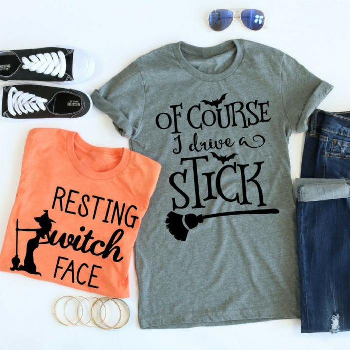 Resting Witch Face Tees Just $13.99! Down From $28!