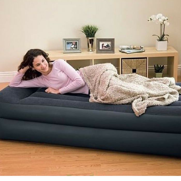 Intex Pillow Rest Raised Airbed With Pump Just $20.54! Down From $40!