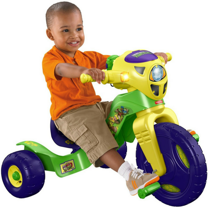 Teenage Mutant Ninja Turtles Lights & Sounds Trike Just $36.46! Down From $57! PLUS FREE Shipping!