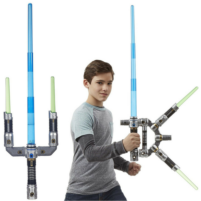 Star Wars Jedi Master Lightsaber Just $23.46! Down From $50!