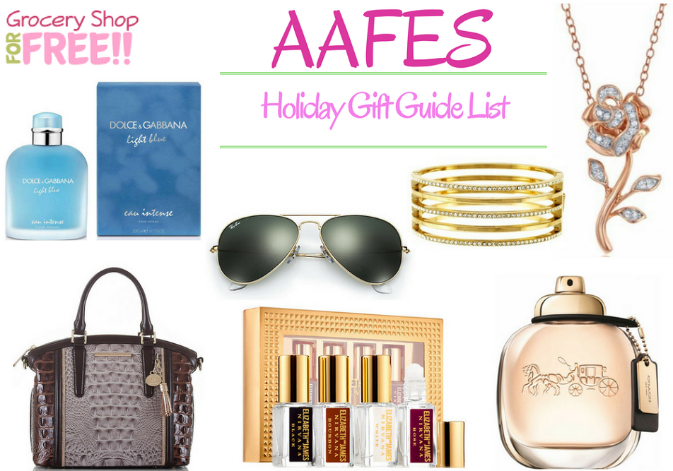 AAFES Holiday Gift Guide Is Ready!