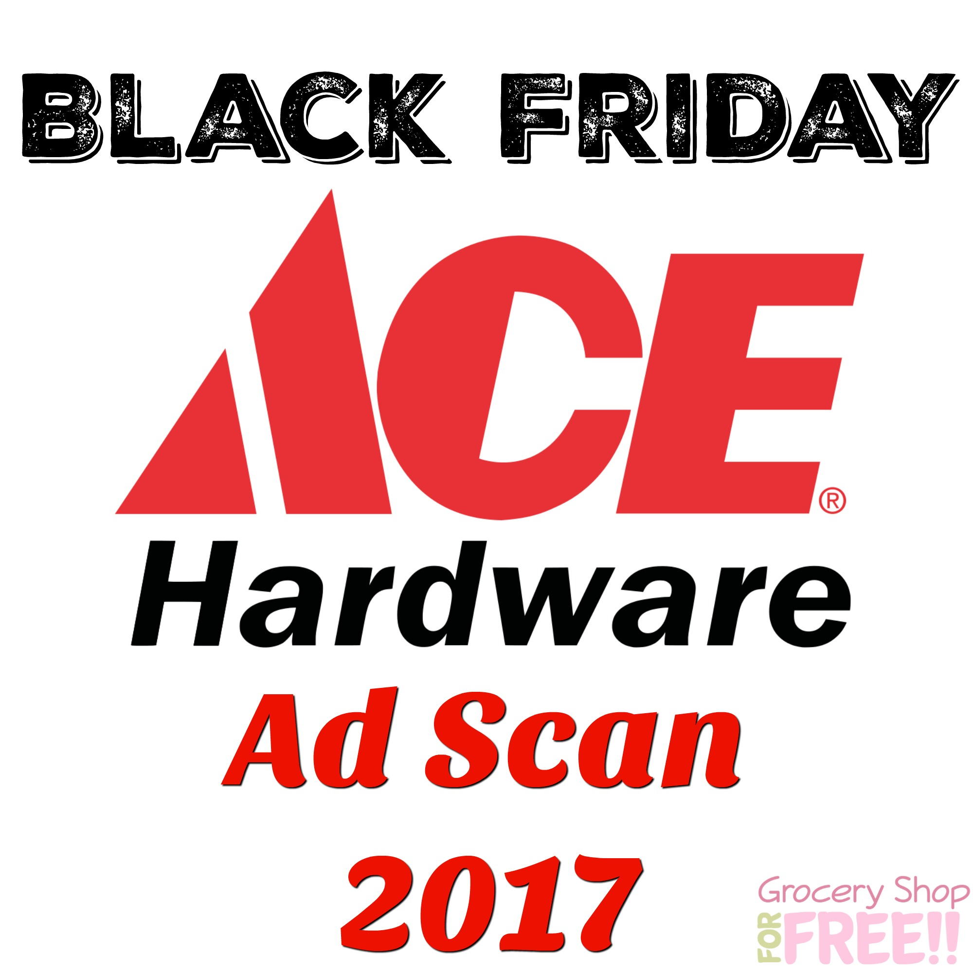 Ace Hardware Black Friday Ad 2017 Scan