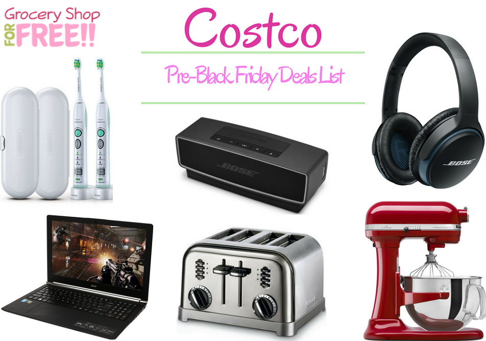 Costco Pre-Black Friday Deals List Is Ready!