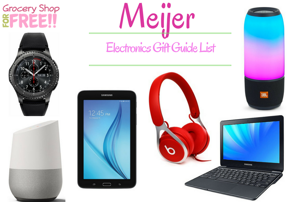 Meijer Electronics Gift Guide Is Ready!