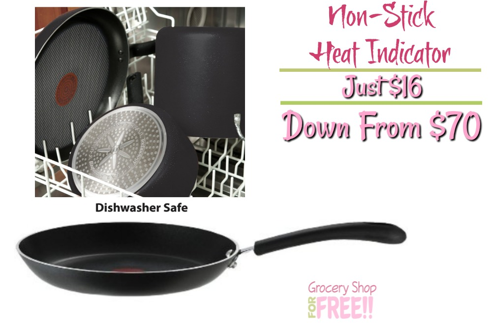 T-fal Pro Nonstick Heat Indicator Fry Pan Just $16! Down From $70!