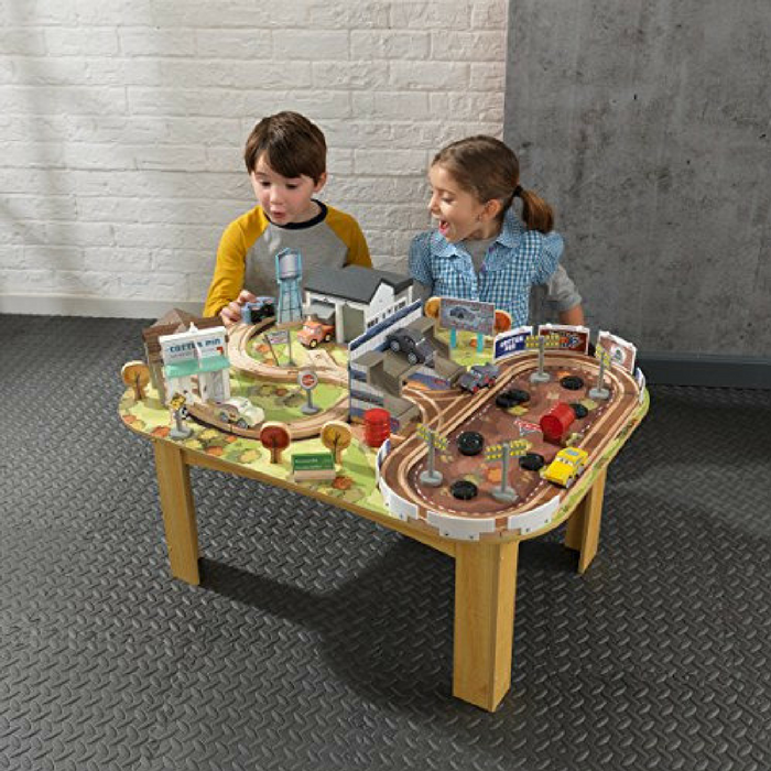 Disney Pixar Cars 70 Piece Wooden Track Set Just $59.98! Down From $150! PLUS FREE Shipping!