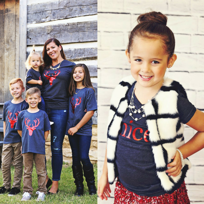 Family Christmas Tees Just $12.99! Down From $25!