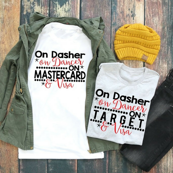 Christmas Shopping Tees Just $13.99! Down From $28!