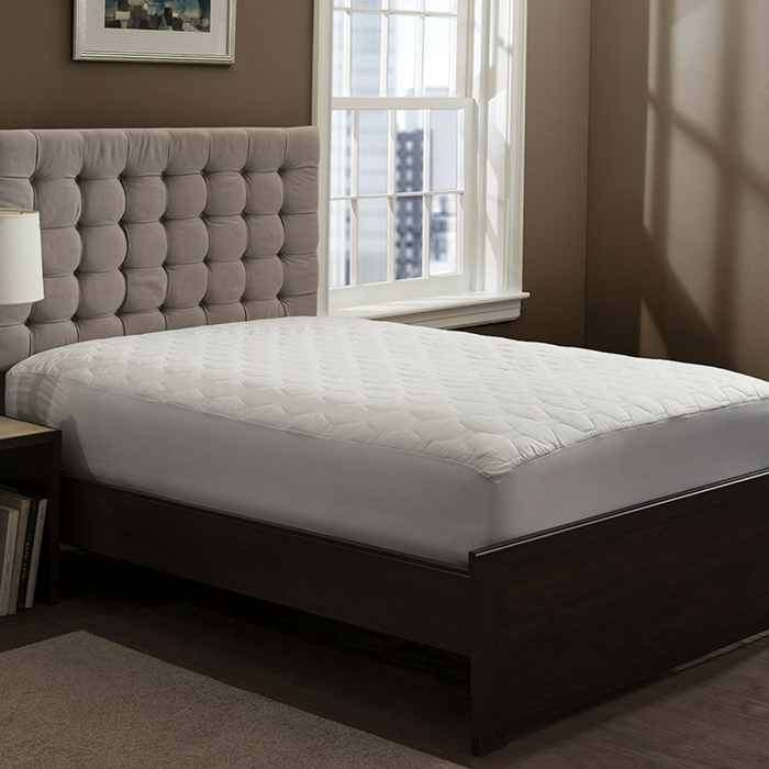 Fitted Quilted Mattress Pad Just $17.99!