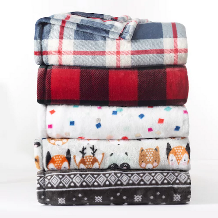 The Big One Supersoft Plush Throw Just $7.64!  Down From $40!